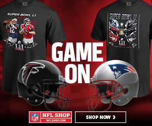 The Falcons and the Patriots are Super Bowl Bound! Get your Conference Champs Gear at NFLShop.com