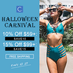 Halloween Carnival! 10% Off $59+: SAVE10; 15% Off $99+: SAVE15! Free Shipping!