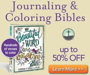 Journaling Bibles and Coloring Bibles