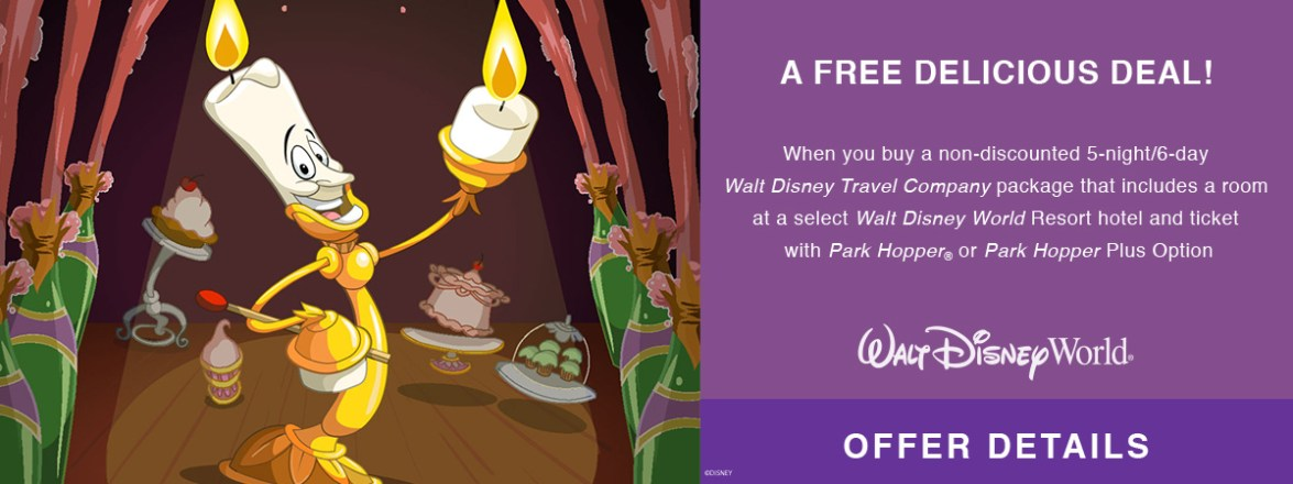 WDW Free Dining Offer