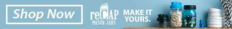 Make it yours with reCap mason jar lids.