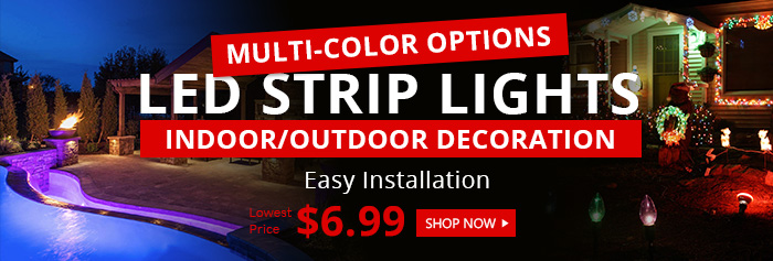 Hot Sale LED Strip Lights from $6.99