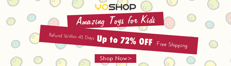 Searching for a good gift for your kids? Come and have a look at our best selection of toys! Enjoy up to 72% OFF. Free shipping!
