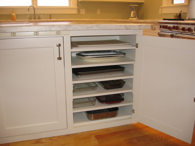 Picture Of DIY Cupboard To Store Casserole Dishes