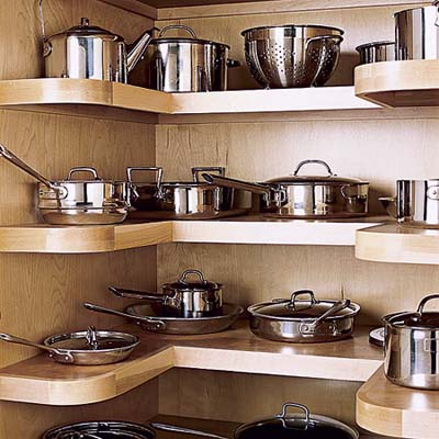 how to organize your kitchen cabinets and drawers cabinet ideas for kitchens 15 creative pots pans storage on ...