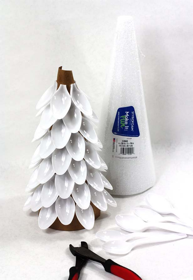 45 Cute ConeShaped Christmas Trees  Shelterness