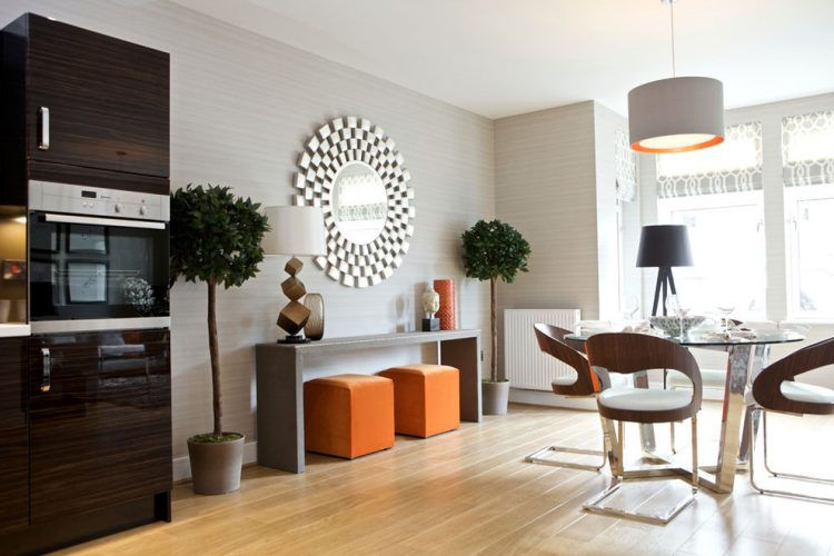 living room console tables mirrored contemporary end 47 table decor ideas shelterness minimalist right in the kitchen