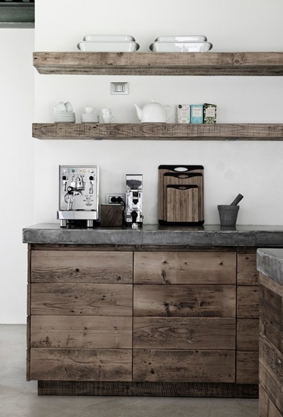 open rustic kitchen cabinets 65 Ideas Of Using Open Kitchen Wall Shelves - Shelterness