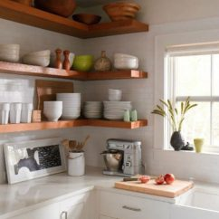 Kitchen Shelf Ideas Qvc.com Shopping 65 Of Using Open Wall Shelves Shelterness Floating Are Perfect To Display Your Stuff
