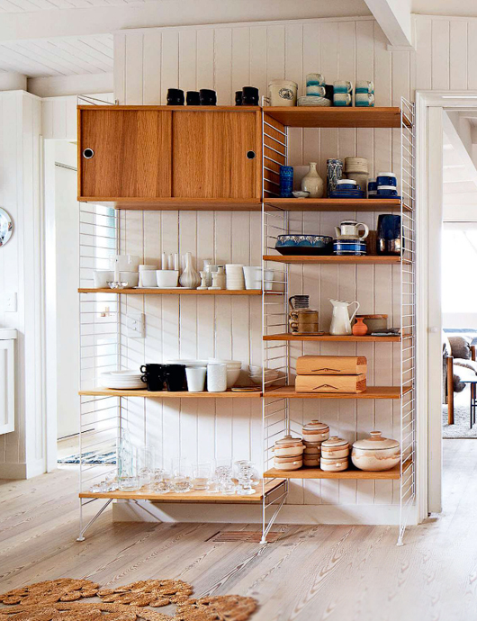 kitchen shelving units wood tile floor 65 ideas of using open wall shelves shelterness are a great altenative to standart tall cabinets
