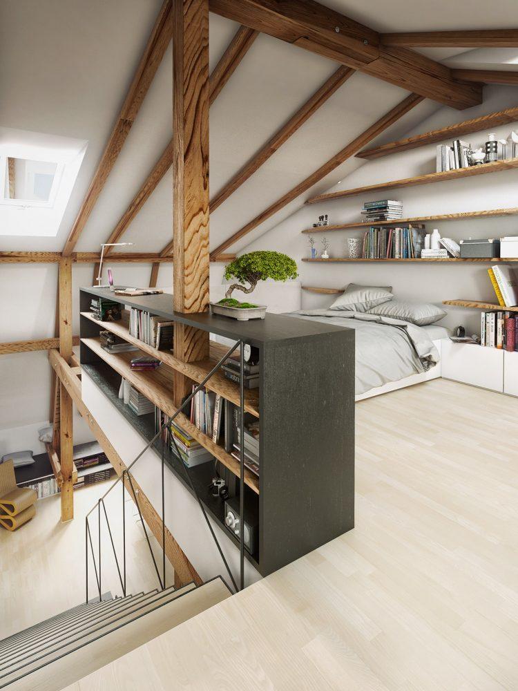 70 Cool Attic Bedroom Design Ideas Shelterness