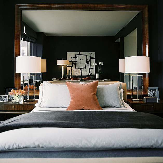 19 Cool Ideas To Use Mirrors As Headboard