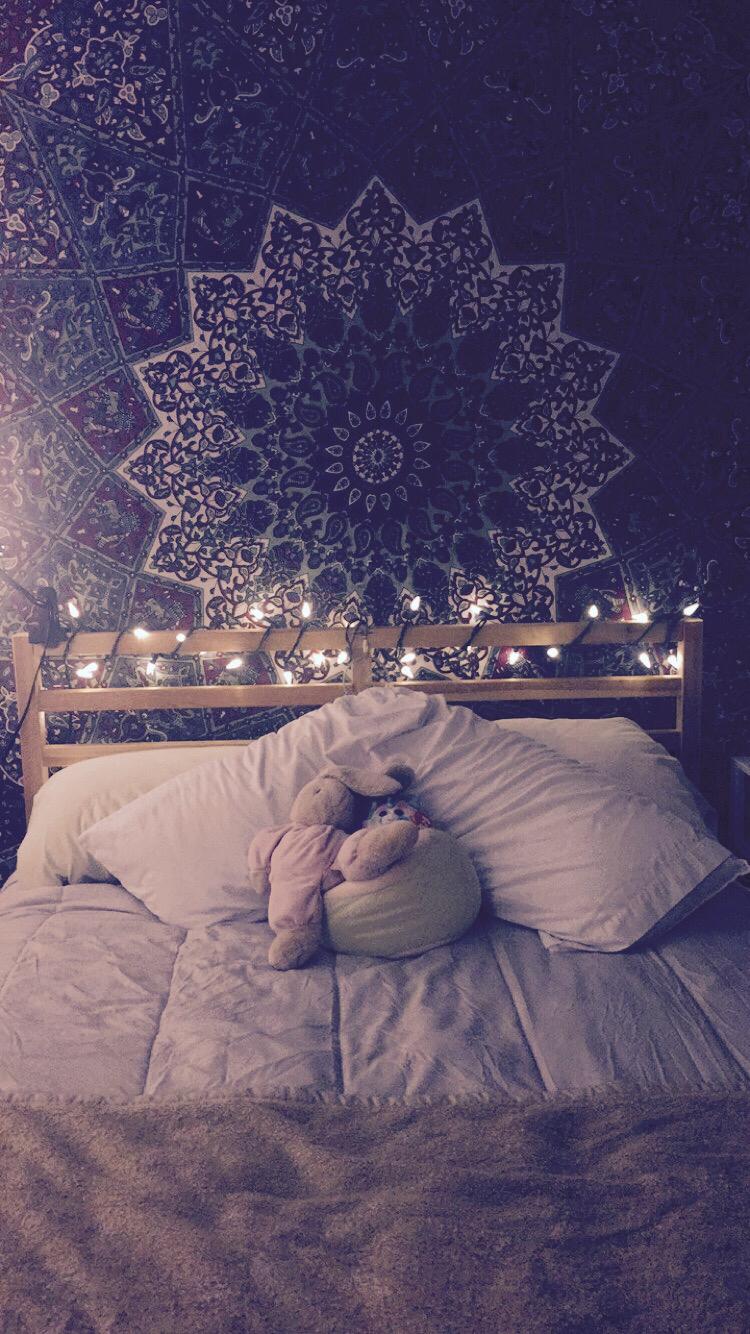 Room Decor With Christmas Lights