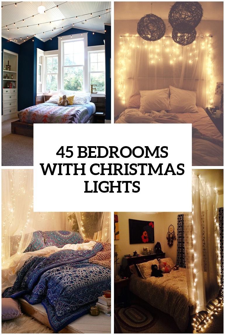 Best Kitchen Gallery: 45 Ideas To Hang Christmas Lights In A Bedroom Shelterness of Room Ideas Diy  on rachelxblog.com