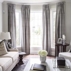 Curtain Ideas For Living Room Blue And Beige 50 Cool Bay Window Decorating Shelterness Curtains Is Always The Best Treatment Choice