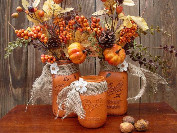 Fall Harvest Mantel Decorating Ideas