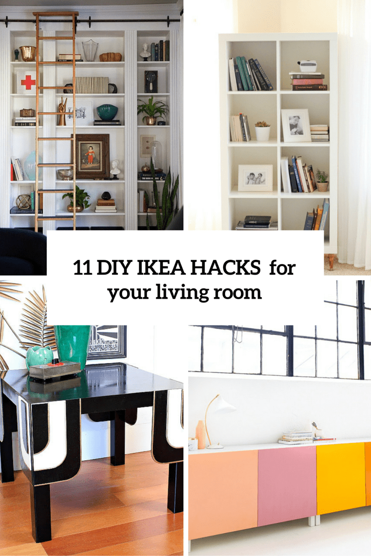 diy living room blue rug 11 practical and chic ikea hacks for rooms shelterness your cover