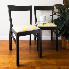 Ikea Dining Chair Desk Ivory 10 Adorable Diy Hacks For A Room Or Zone Shelterness Upholstered Chairs Via Sarahhearts