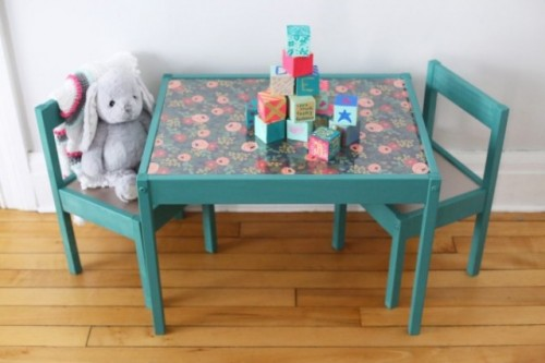 diy dining chairs makeover best filling for bean bag 10 awesome ikea hacks any kids' room - shelterness