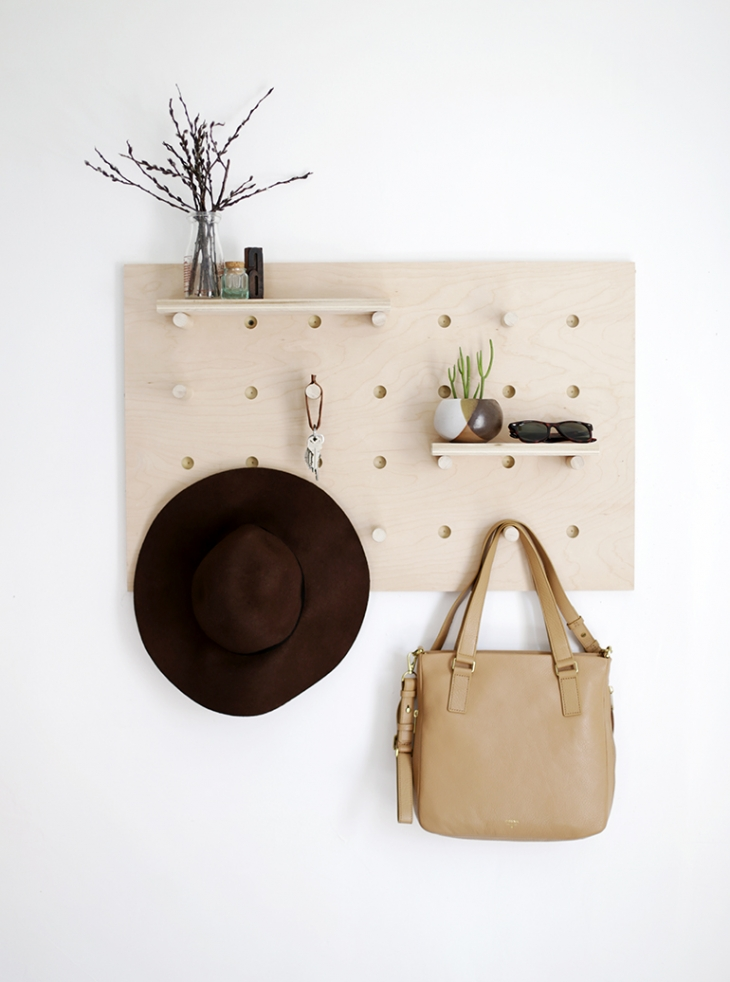 9 Practical And EyeCatching Pegboard DIYs For Your Home