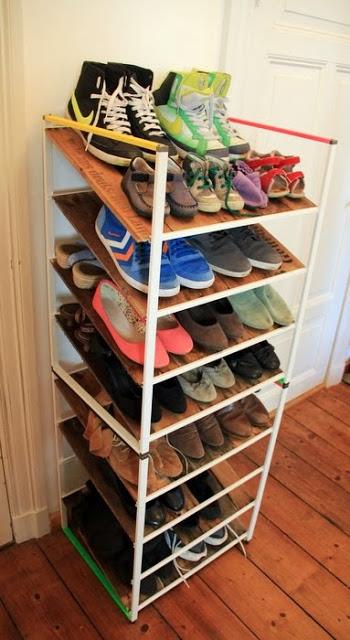 12 Awesome DIY IKEA Hacks For Shoes Organization Shelterness