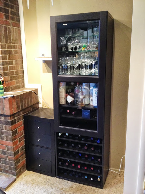 9 Awesome DIY Wine Racks And Cellars From IKEA Units