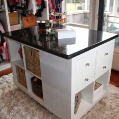 Granite Top Kitchen Cart Commercial Cleaning 9 Cool And Easy Diy Ikea Hacks For Your Closet - Shelterness