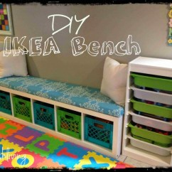 How To Make A Simple Lego Sofa Modern Recliner Uk 8 Cool Diy Ikea Hacks For Kids' Toy Storage - Shelterness