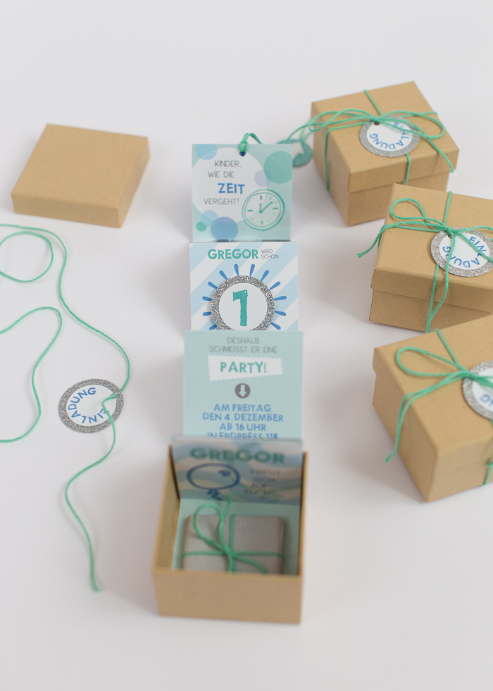 Creative DIY Birthday Invitations In A Box Shelterness