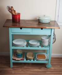 Picture Of DIY kitchen cart