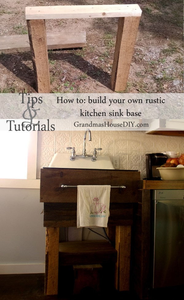 11 DIY Sink Bases And Cabinets You Can Make Yourself