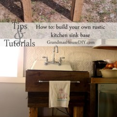 Building Your Own Kitchen Cabinets Hood 11 Diy Sink Bases And You Can Make Yourself ...