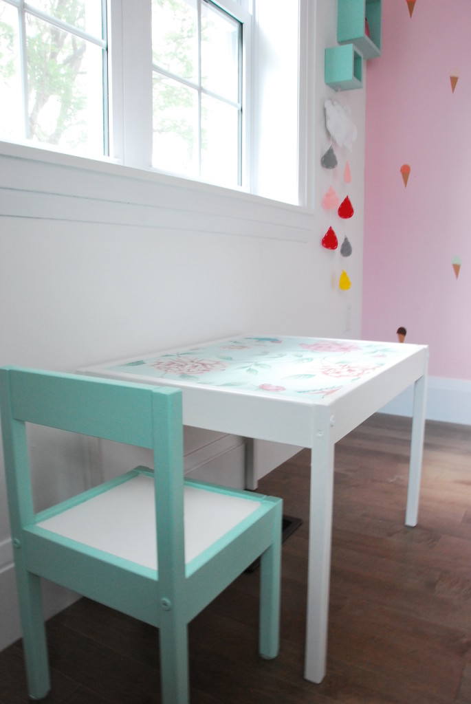 kitchen nook table island on wheels with seating 9 totally charming diy ikea hacks for a nursery - shelterness