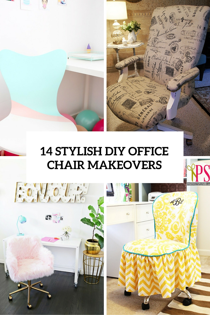 unusual chair covers ikea ingolf chairs archives shelterness 14 stylish diy office makeovers you can realize