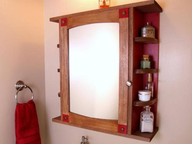 10 Cool DIY Medicine Cabinet Makeovers Youll Like