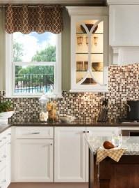 7 Cute And Bold DIY Mosaic Kitchen Backsplashes - Shelterness