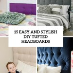 15 Easy And Stylish Diy Tufted Headboards For Any Bedroom Shelterness