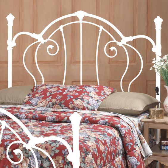28 Unique Metal Headboards That Are Worth Investing In