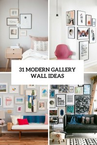 31 Modern Photo Gallery Wall Ideas - Shelterness