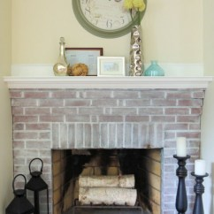 Backsplashes For Kitchen Rustic Cabinet Hardware How To Whitewash Brick: 13 Cool Tutorials - Shelterness