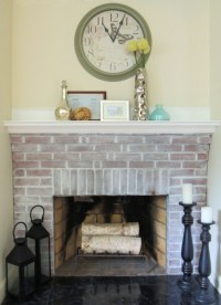 How To Whitewash Brick: 13 Cool Tutorials - Shelterness