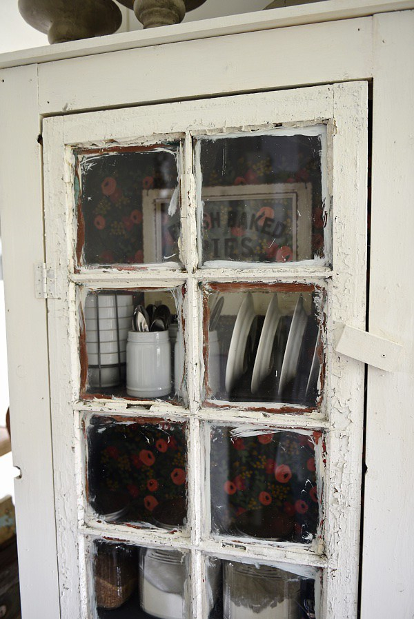 VintageInspired DIY Old Window Floor Cabinet  Shelterness