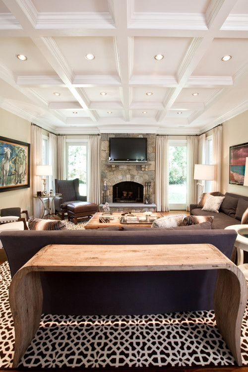 cheap ceiling ideas living room affordable interior design 36 stylish and timeless coffered for any white