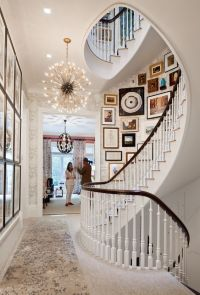33 Stairway Gallery Wall Ideas To Get You Inspired ...