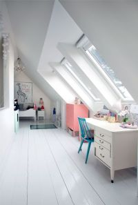 30 Cozy Attic Kids Rooms And Bedrooms - Shelterness