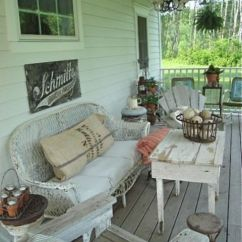 Grey Patio Chair Covers Exercise Accessories 27 Shabby Chic Terrace And Décor Ideas - Shelterness