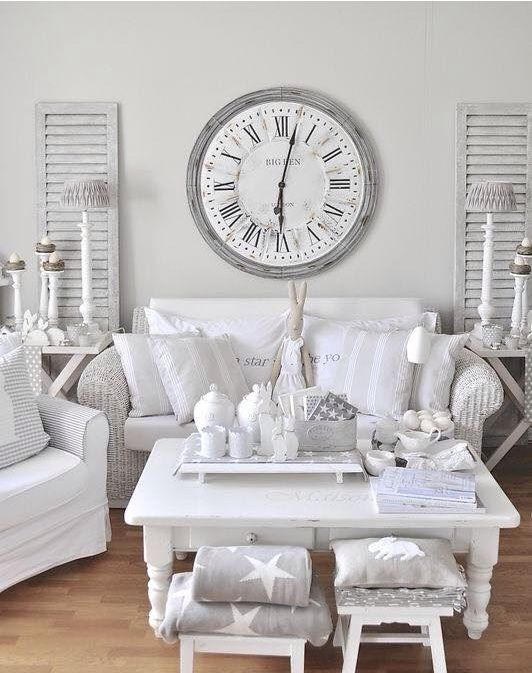 shabby chic living rooms pictures picture wall ideas for room 26 charming decor shelterness whitewashed