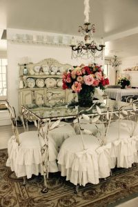 26 Ways To Create A Shabby Chic Dining Room Or Area ...