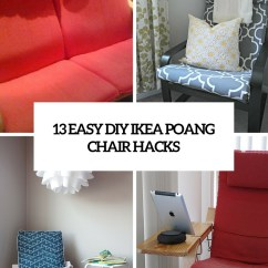 Ikea Poang Chair Cover Retro Diner Chairs Uk 13 Easy And Fast Diy Hacks Shelterness