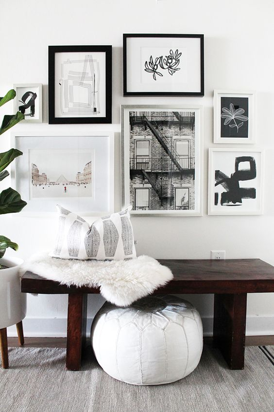 How To Create An Art Gallery Wall 5 Tips And 25 Ideas